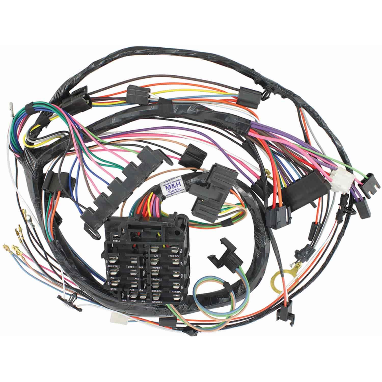 Wiring Harness 1970 El Camino : Restoparts wiring harness dash chevelle el