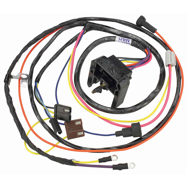 restoparts 38960 wiring harness engine 1969 chevelle el camino sb rh jegs com 1969 chevelle engine wiring harness