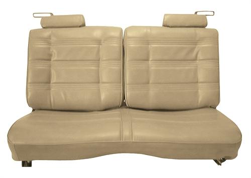 Restoparts L2216 Seat Upholstery 1978 80 El Camino Front Split