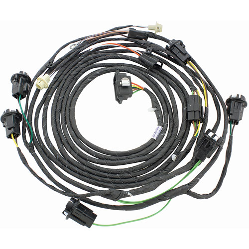 RESTOPARTS Wiring Harness Rear Light 1969 GTO Coupe Trunk on