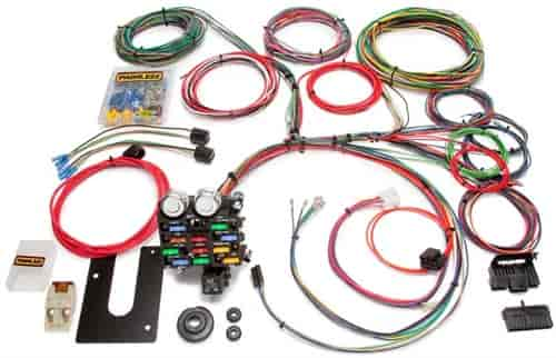 painless 10101 universal 21 circuit classic chassis harness gm rh jegs com