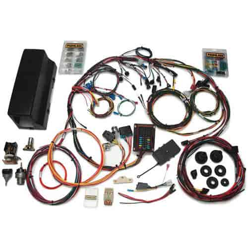 painless performance products 10113 weatherproof chassis wiring rh jegs com 1966 F-100 Wiring Harness Painless Wiring Harness
