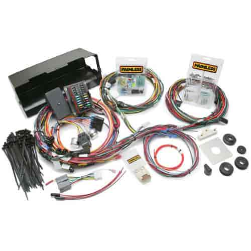 painless performance products 10114 weatherproof chassis wiring rh jegs com Cen-Tech Wiring Harness 1985 Ford Bronco Stereo Wiring