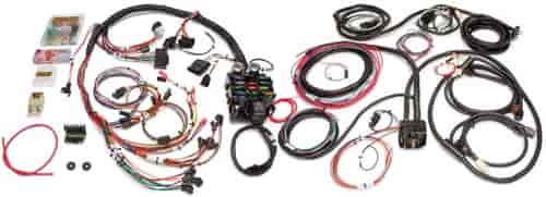 painless performance products 21 circuit jeep chassis harness 1976 86 jeep cj 10150 Painless Wiring Harness