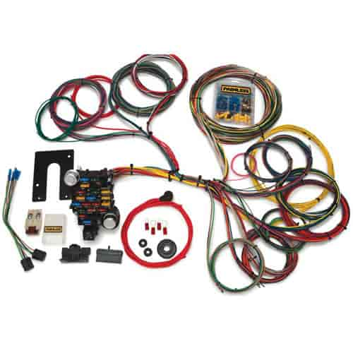 Painless Performance Products 10204: Clic-Plus Customizable ... on 1972 chevy truck harness, painless fuse box, electrical harness, 5.3 vortec swap harness, racing seat harness, duraspark harness, indestructible dog harness, horse team harness, 5 point harness, chevy tbi harness, front lead dog harness, dodge ram injector harness, horse driving harness, rover series 3 diesel harness, fuel injector harness, car harness, ford 5.0 fuel injection harness, painless engine harness, radio harness, bully dog harness,