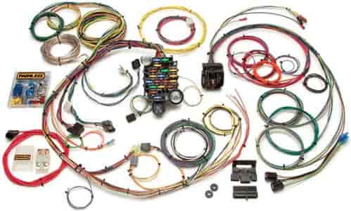 764 20101 painless 20101 24 circuit classic plus chassis harness1967 68