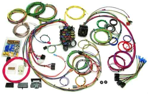 764 20102 painless performance products 20102 universal gm muscle car jegs universal wiring harness at beritabola.co