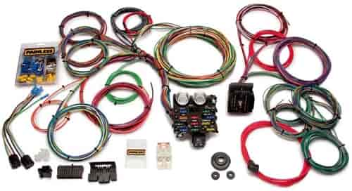 painless performance products 20103 universal muscle car wiring automotive wiring harness manufacturers at Car Wiring Harness