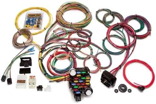 Painless Performance Products 20104 - Painless Universal Muscle Car Wiring Harnesses