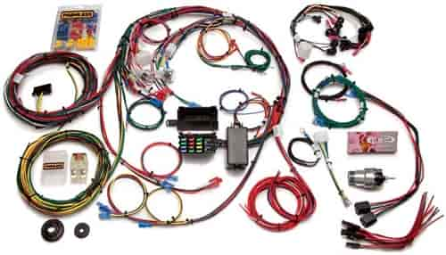 Painless Performance Products 20121 - Painless Ford Car Chassis Harnesses