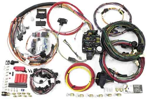 Painless 20129: Direct Fit | 26-Circuit Wire Harness | 1969 Chevy Chevelle,  Malibu | Chassis Harness | JEGSJegs