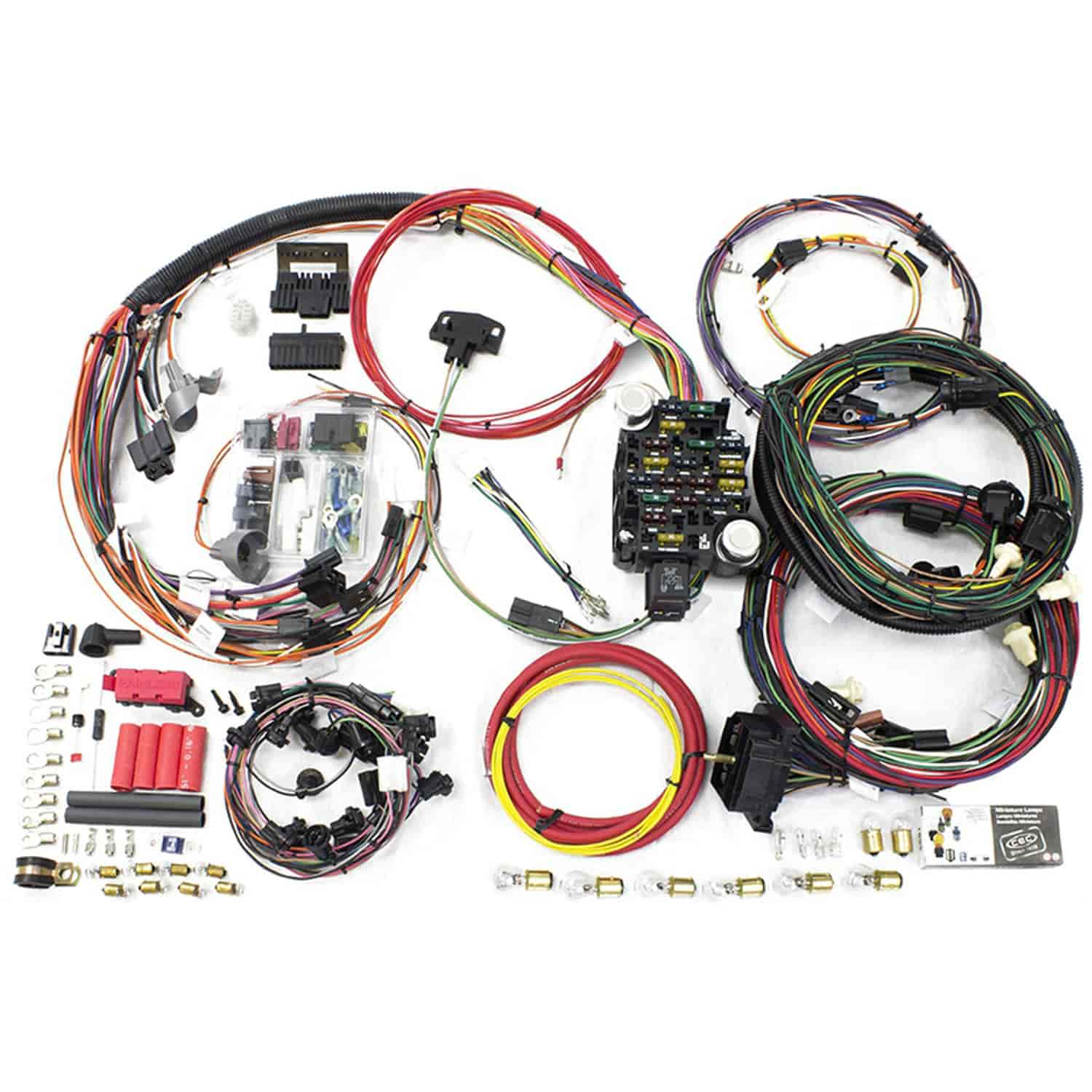 painless performance products 20130 direct fit 26 circuit wiring harness 1970 1972 chevy