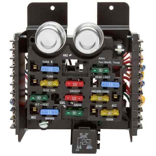 painless performance products 30001 universal fuse block 12 circuit rh jegs com