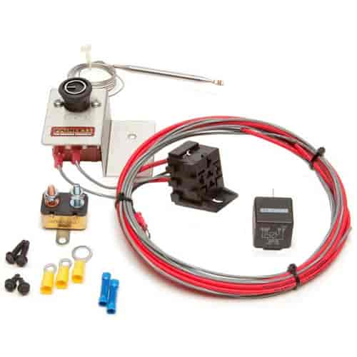 Painless Performance Products 30104 - Painless Electric Adjustable Fan Thermostat Kits