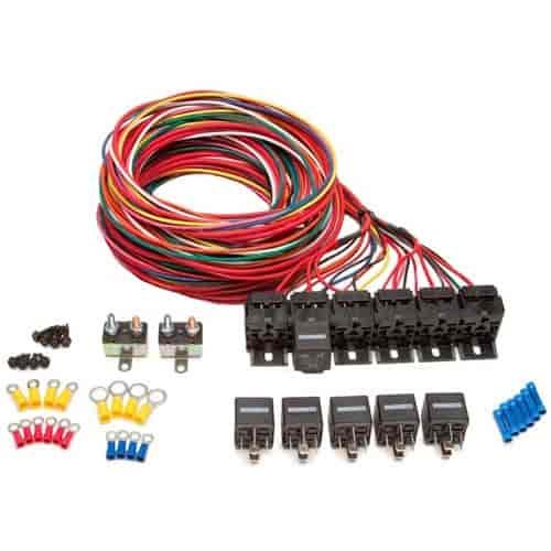 Painless Performance Products 6-Pack Relay Bank Kit (6) 40 Amp SPST on