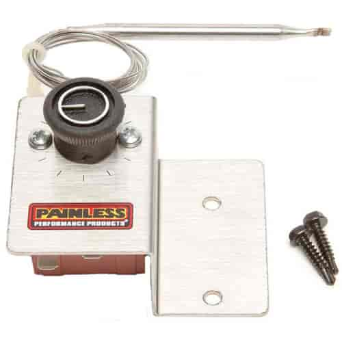 Painless Performance Products 30112 - Painless Electric Adjustable Fan Thermostat Kits