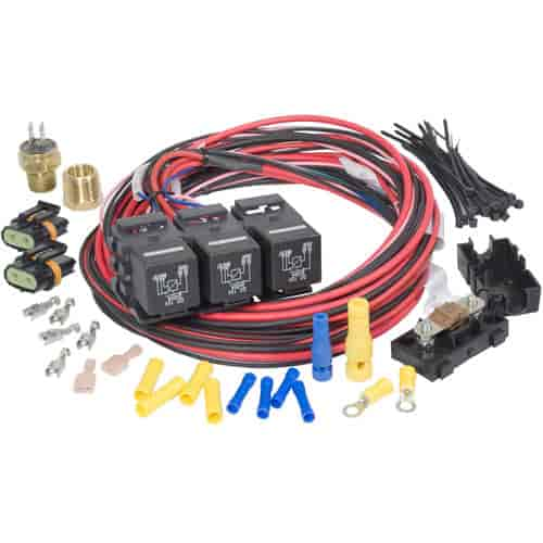 Painless Performance Products 30117 - Painless Electric Fan Relay Kits