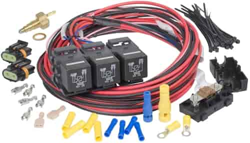 Painless Performance Products 30118 - Painless Electric Fan Relay Kits