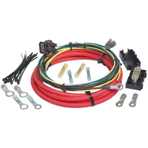painless performance products 30831 ford 3g alternator harness 8 quot charge wire 6 jegs