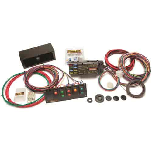 764 50005_1 painless performance products 50005 10 circuit race wire harness VW Wiring Harness Kits at gsmportal.co