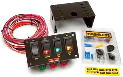 Painless Performance Products 50301 - Painless Rocker Switch Panels