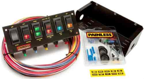 Painless Performance Products 50302 - Painless Rocker Switch Panels