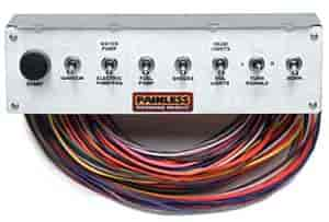 painless performance products 50410 pro street non fused toggle rh jegs com Off-Road Switch Panel painless wiring toggle switch panel