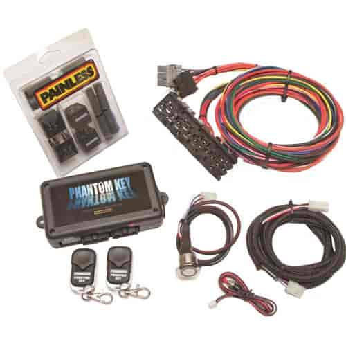 Painless Performance Products 55000 - Painless Phantom Keyless Ignition/Entry System