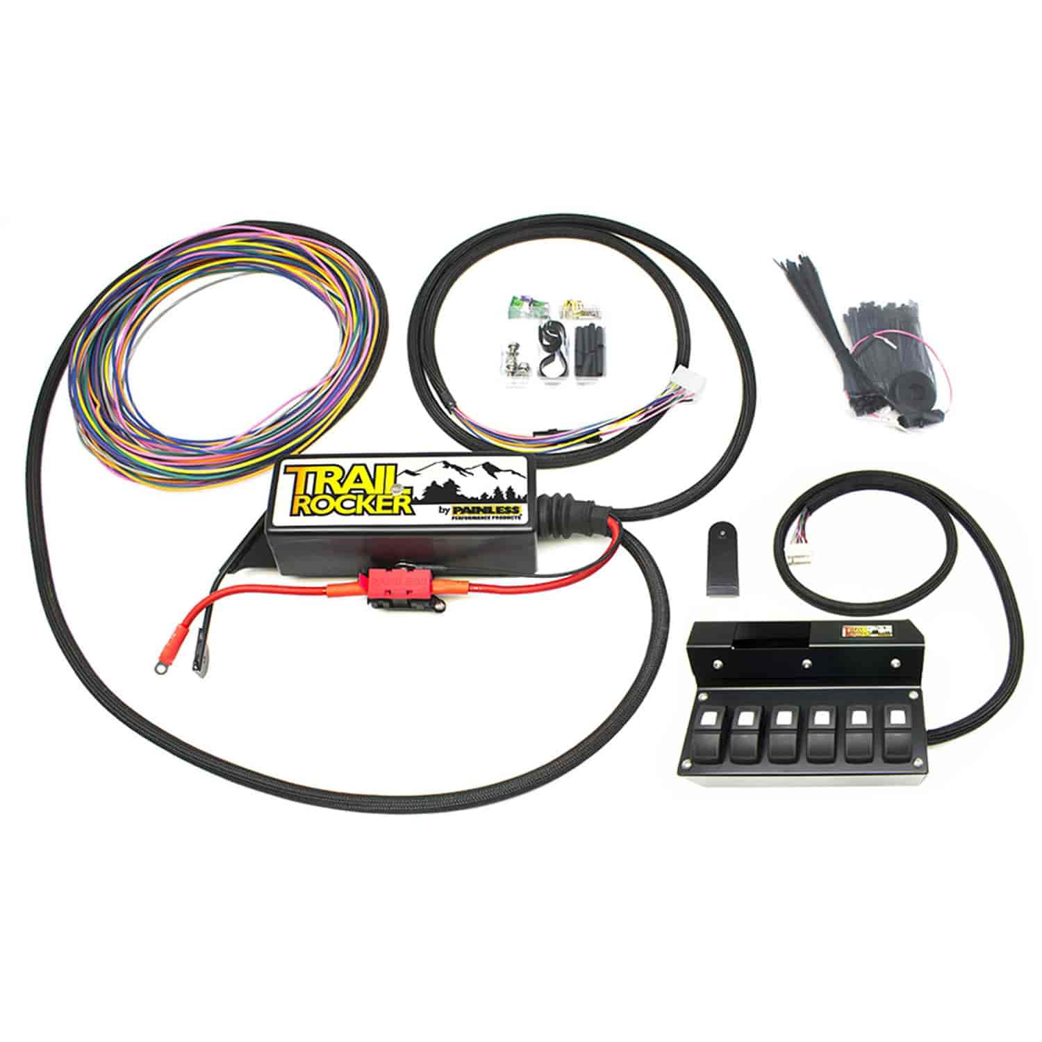 Painless Performance Products 57004 Trail Rocker Accessory Control Electrical Wiring Accessories