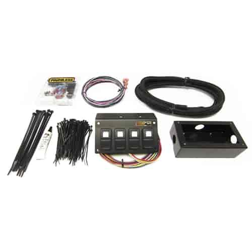 Painless Performancer 50421 Wiring Toggle Switch Panel