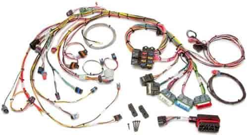 painless 60212 efi wiring harness 1996 1999 gm vortec 5 0l 5 7l v8 rh jegs com LS1 Engine Swap Wiring Harness LS1 Engine Swap Wiring Harness