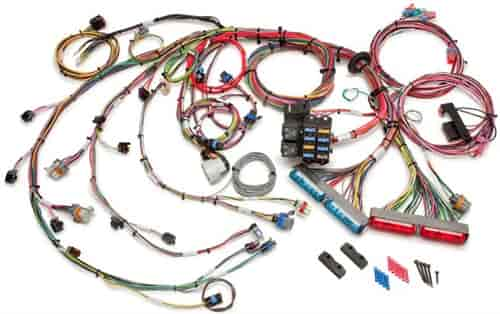 gm headlight wiring 2006 painless 60217 efi wiring harness 1999 2006 gm c k truck ls 4 8l  painless 60217 efi wiring harness 1999