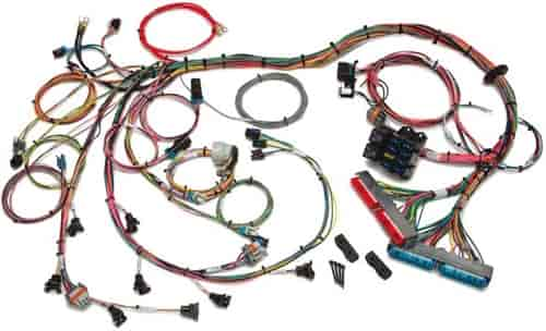 custom ls1 wiring harness painless performance products 60509 efi wiring harness ... e46 ls1 wiring harness