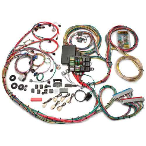 painless performance products 60617 integrated efi chassis wiring rh jegs com GM 5.3 Vortec Engine GM 4.3L Vortec Engine
