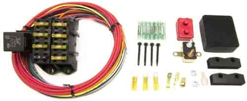 painless performance 70207 7 circuit cirkit boss auxiliary fuse rh jegs com