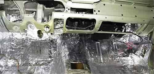 1972-1980  DODGE TRUCK  FIREWALL INSULATION PAD KIT 3 PIECES