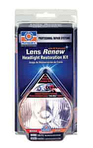 Permatex 09136 - Permatex Lens Renew Headlight Restoration Kit