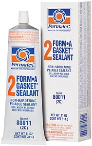 Permatex 80011: Form-A-Gasket No. 2 Sealant 11oz Tube | JEGS
