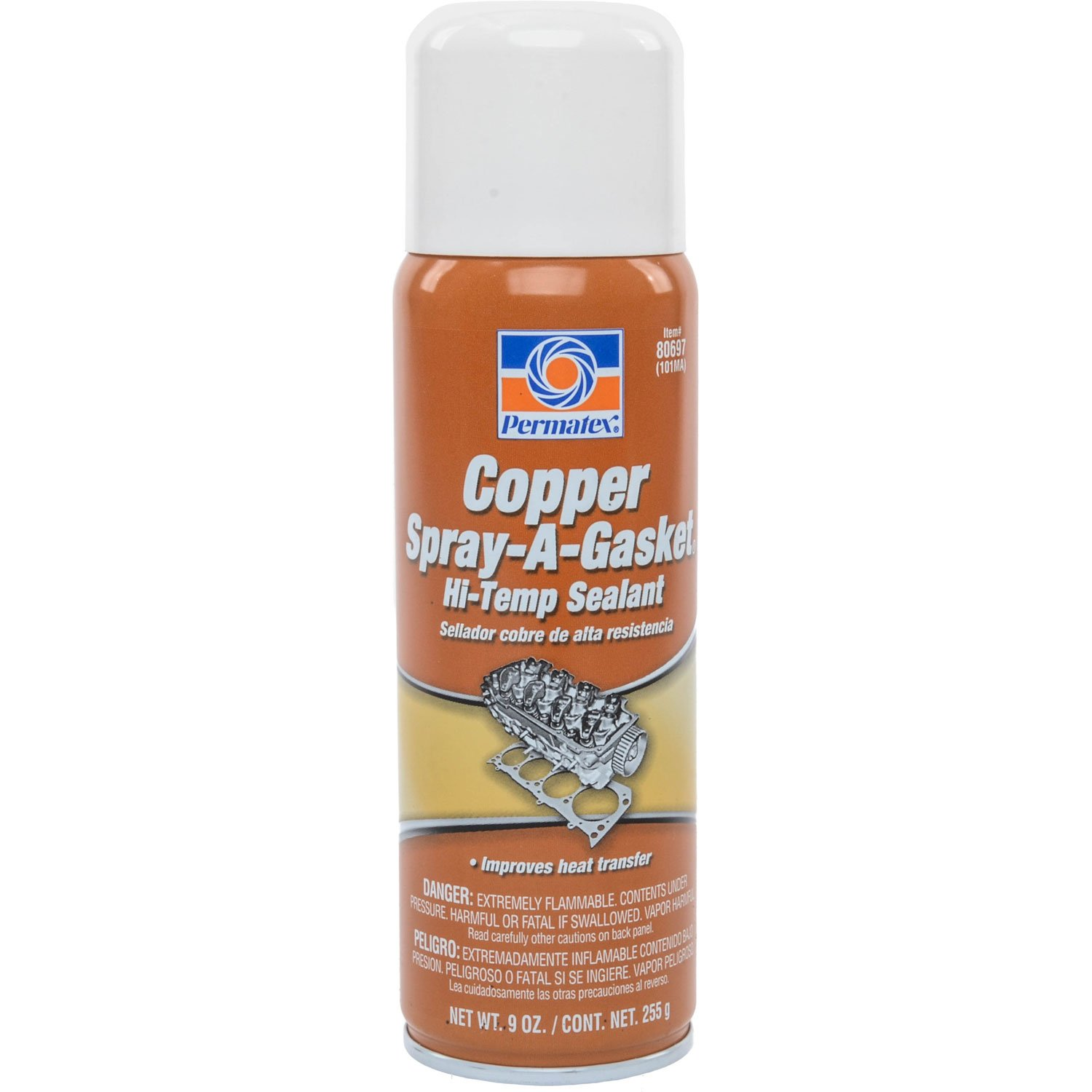Permatex 80697 - Permatex Copper Spray-A-Gasket Sealant