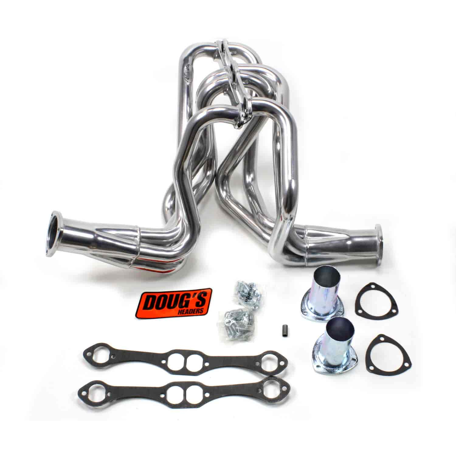 Doug's Headers D358 Metallic Ceramic Coated Headers 1958