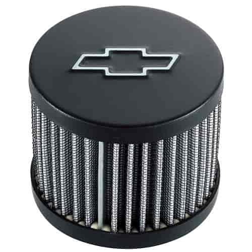 Steel Chrome PROFORM 141-622 Push-In Filter Air Breather Cap