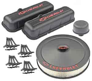 Proform 141-811K - Officially Licensed Chevrolet Black Crinkle Finish Dress-Up Kit