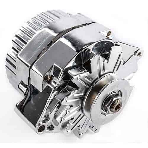 778 6644512n proform 66445 1n 1 wire gm alternator 100 amp in chrome finish jegs Basic Chevy Alternator Wiring Diagram at fashall.co