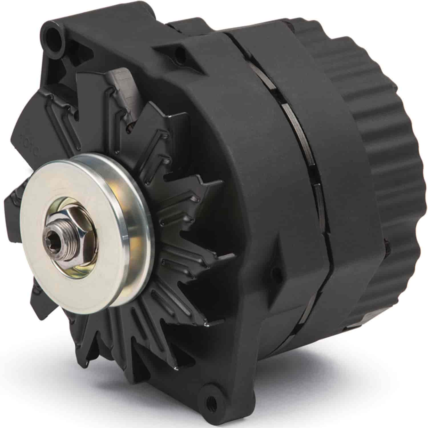 Proform 1-Wire GM Alternator 100-Amp in Black Crinkle Finish