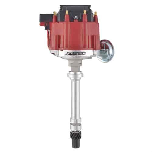 Proform 66941R: Racing HEI Distributor & 50,000 Coil for Small Block on msd distributor wiring diagram, hitachi distributor wiring diagram, pertronix distributor wiring diagram, accel distributor wiring diagram, crane distributor wiring diagram, mallory distributor wiring diagram,