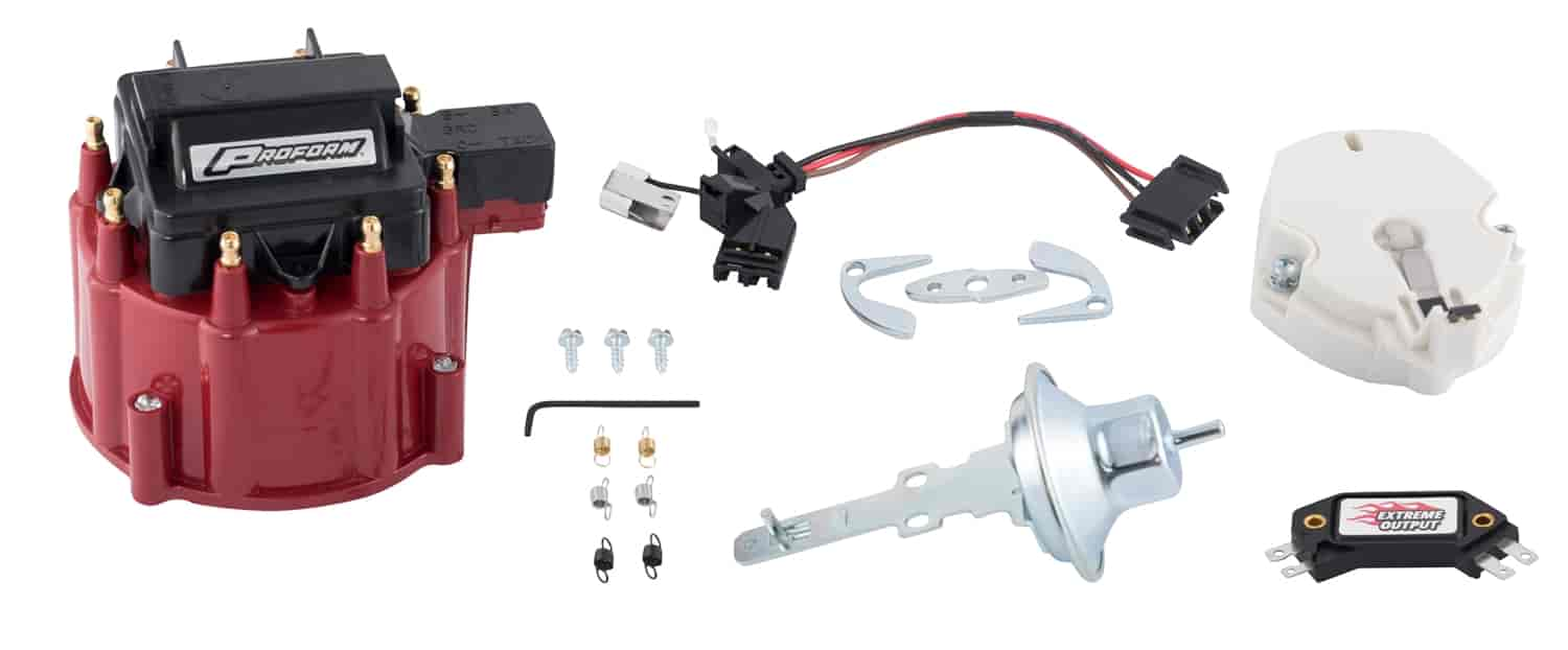 Proform HEI Distributor Tune-Up Kit for GM V8 with Red Cap