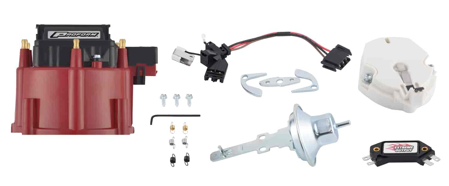 Proform HEI Distributor Tune-Up Kit for GM V6 with Red Cap