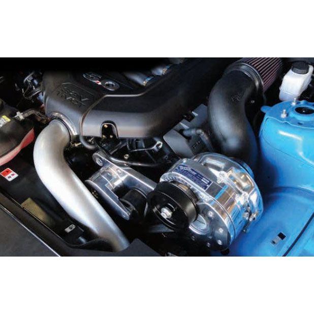 Mustang Procharger P1x: ProCharger 1FR214P1XPPH: High Output Intercooled