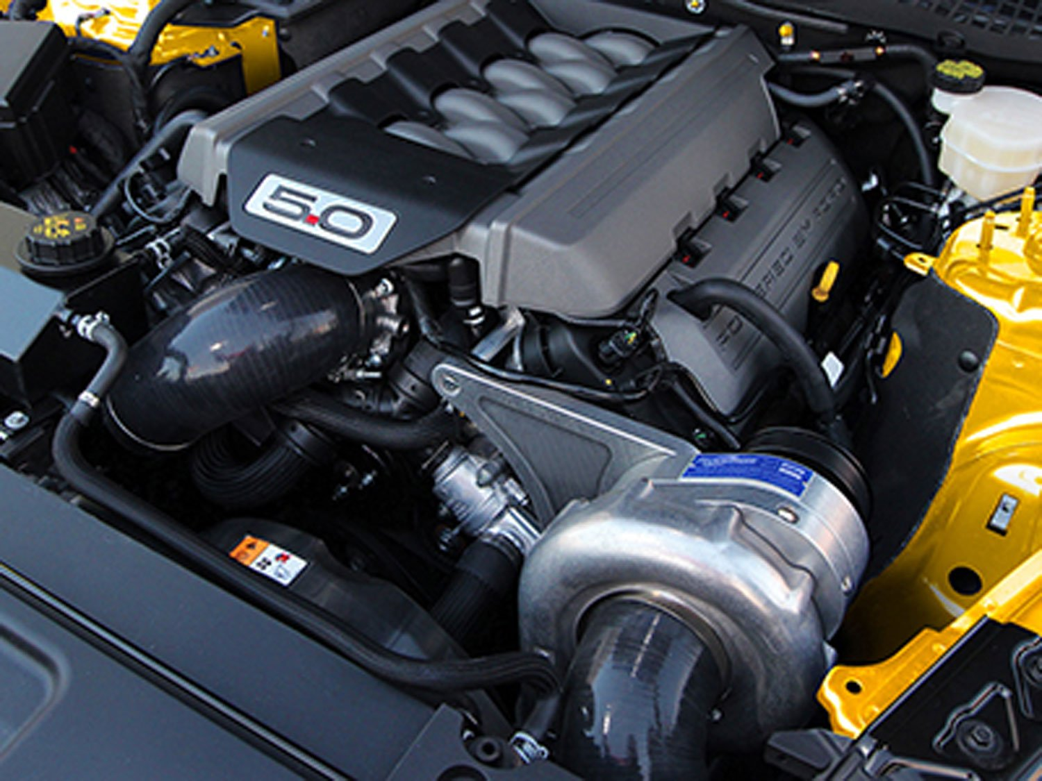 2015 Mustang Gt Supercharger >> Procharger High Output Intercooled Supercharger System P 1sc 1 2015 2017 Mustang Gt 5 0l