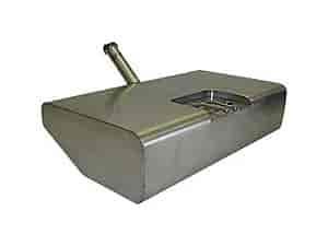 Rick's Hot Rod Shop 1505 - Rick's Hot Rod Shop Stainless Steel Carbureted Gas Tanks